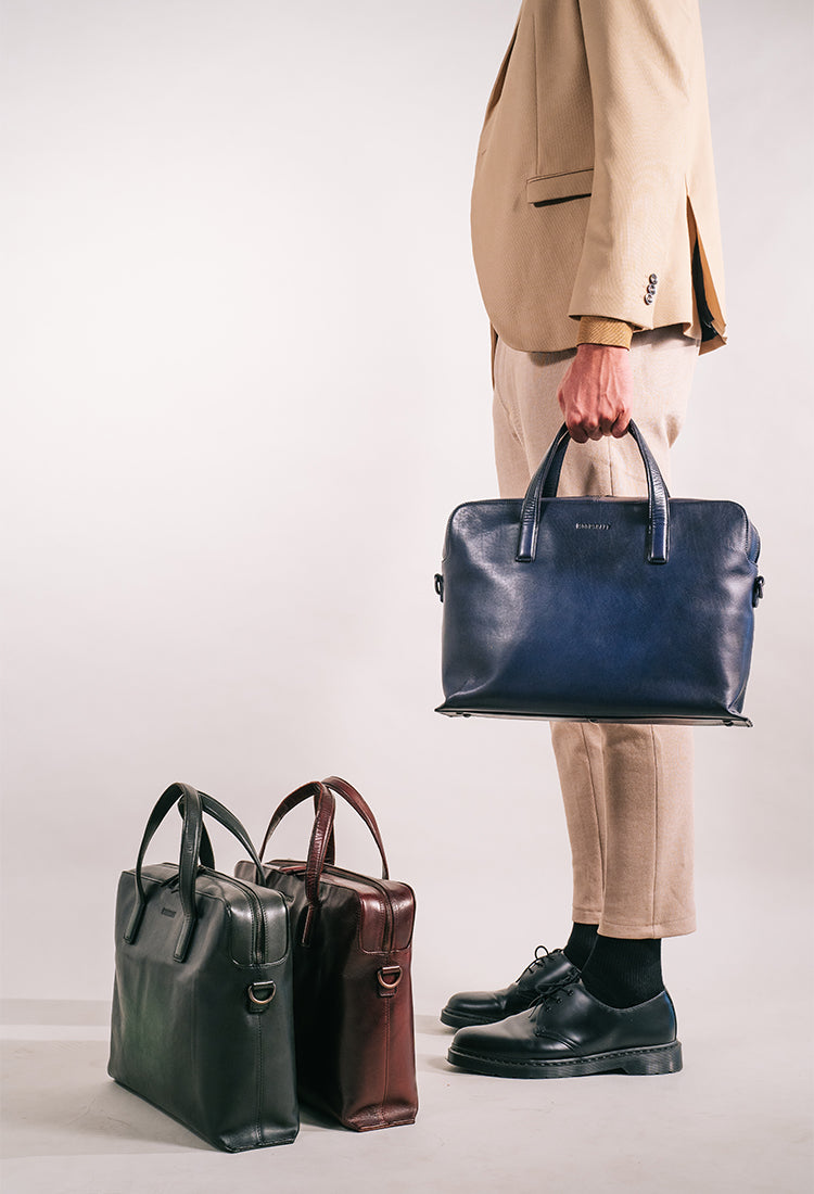 men with briefcases