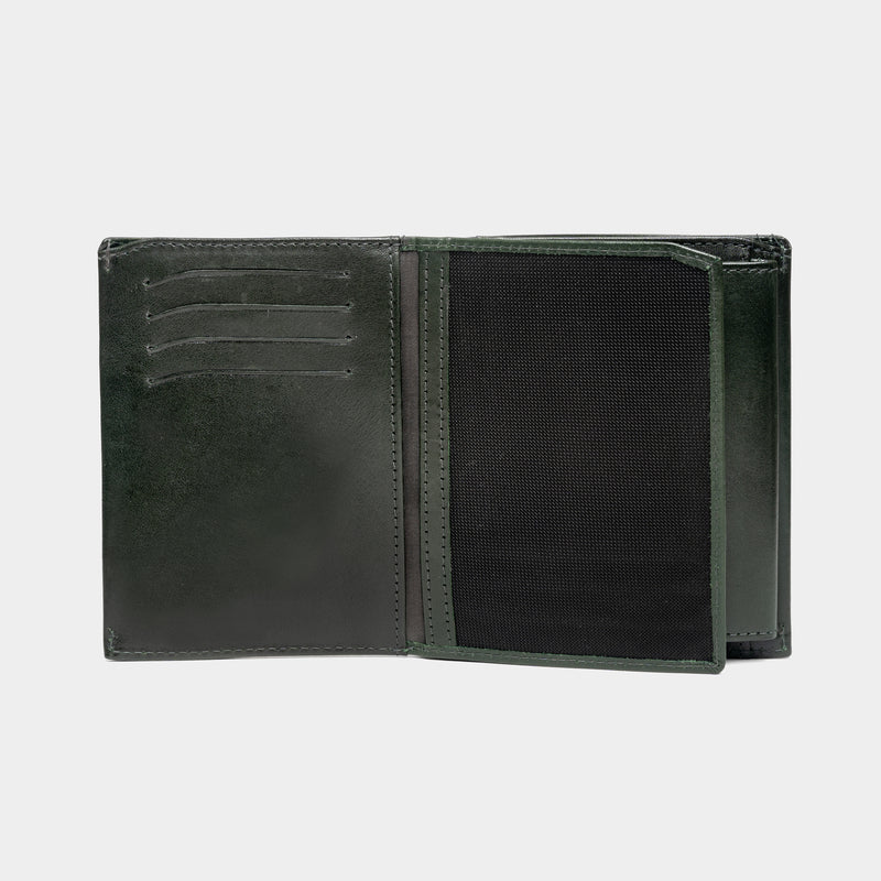 Compact Trifold - Croco Interior - Moonshaft