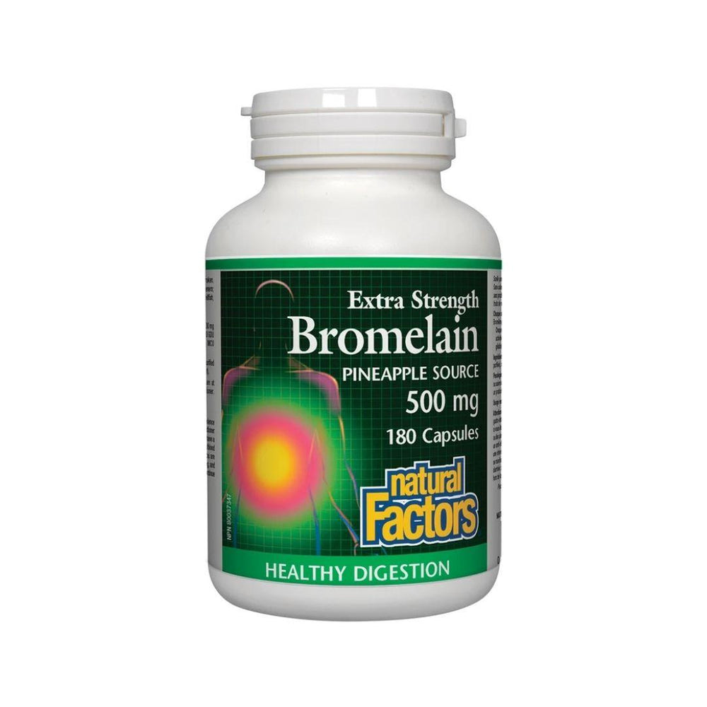 Natural Factors Bromelain 500mg 90 Capsules