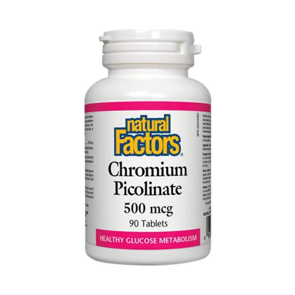 Natural Factors Chromium Picolinate Tablets