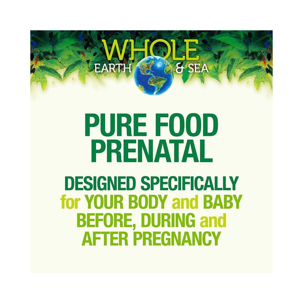 Natural Factors Whole Earth & Sea Prenatal Multivitamin 60 Tablets