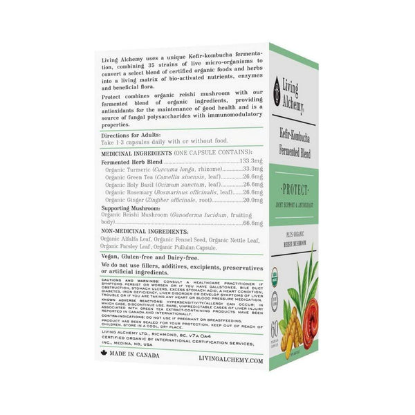 Living Alchemy PROTECT 60 Capsules
