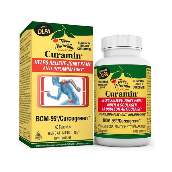 Terry Naturally Curamin DLPA 60 Capsules