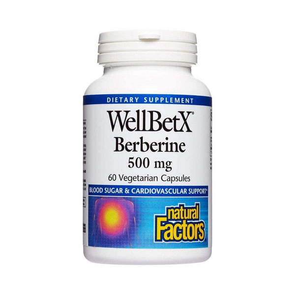 Natural Factors WellBetX Berberine 500mg 60 Capsules
