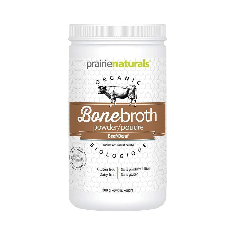 Prairie Naturals Bone Broth 300gr Powder Beef