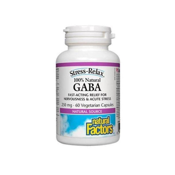 Natural Factors GABA 250mg 60 Capsules