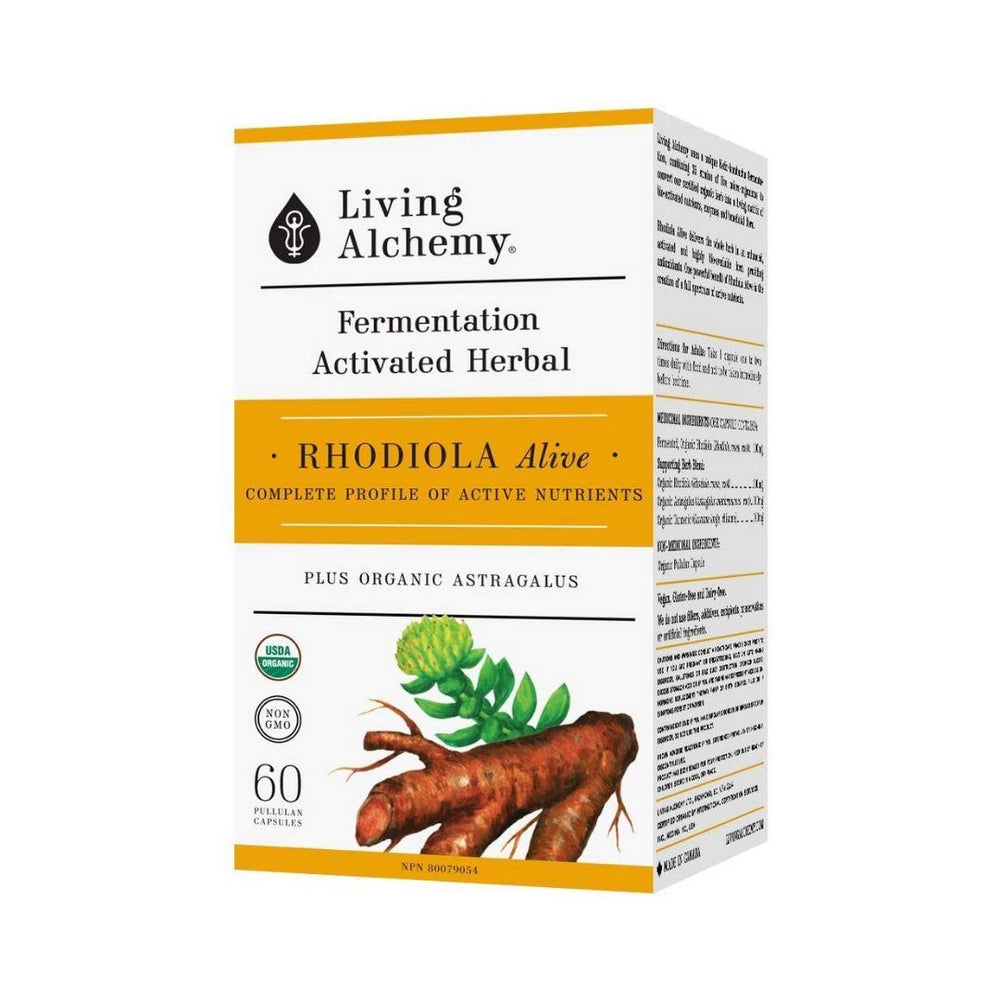 Living Alchemy Rhodiola | Durham Natural