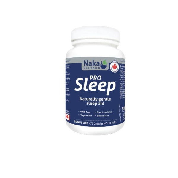 Naka Pro Sleep - 75 Veggie Caps | Durham Natural