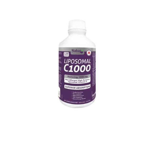Naka Liposomal C 1000 - 500ML | Durham Natural
