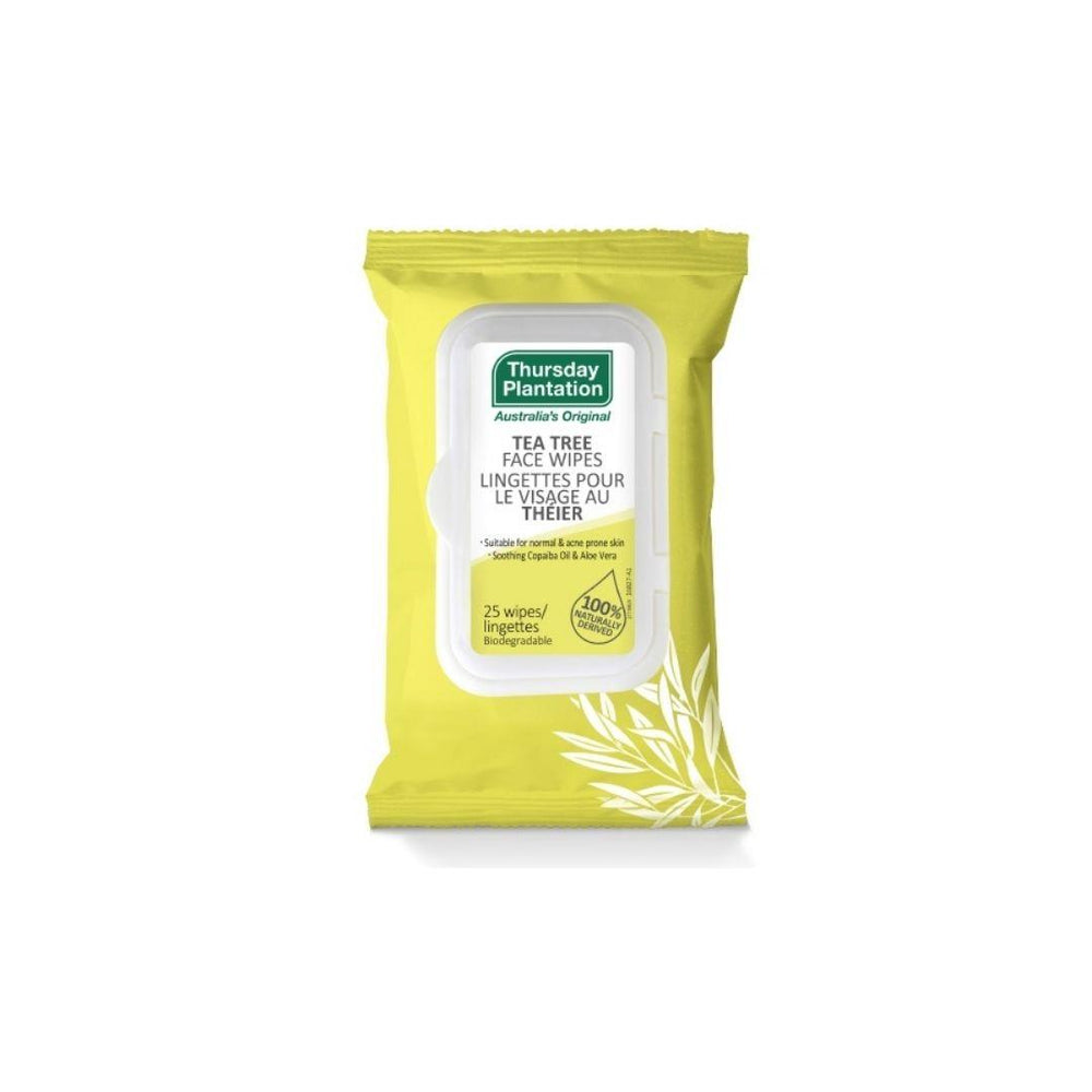 TEA TREE FACE WIPES