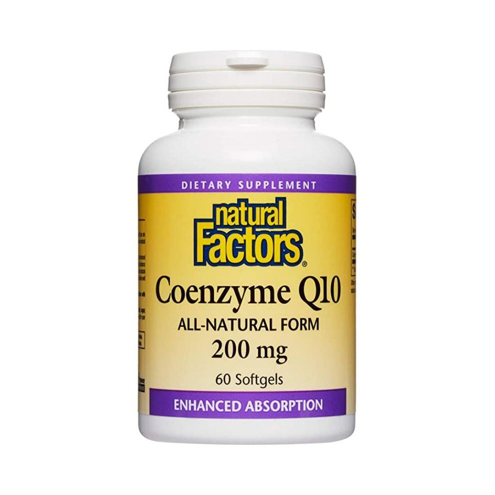 Natural Factors Coenzyme Q10 200mg