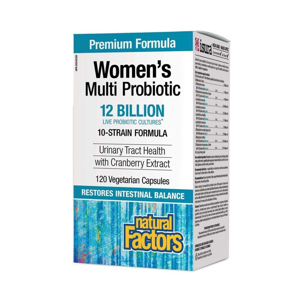 Natural Factors Multi Probiotic 10 Strain 12 Billion Women's Capsules