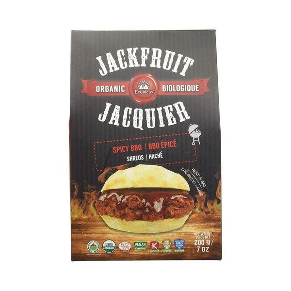 EcoIdeas Jackfruit Shredded BBQ 200gr