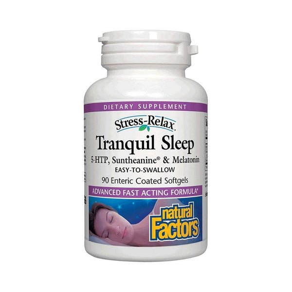 Natural Factors Tranquil Sleep 90 Softgels