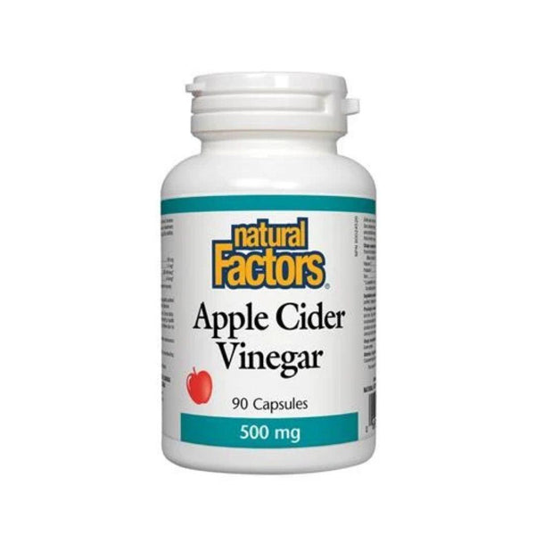 Natural Factors Apple Cider Vinegar 90 Capsules