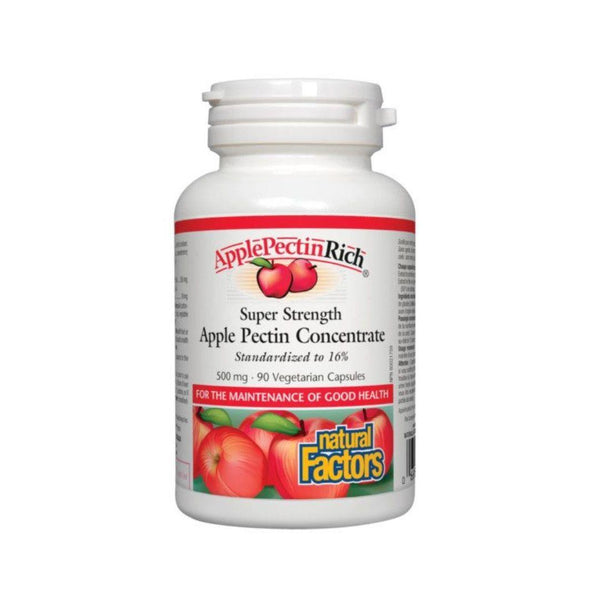 Natural Factors Apple Pectin 500mg 90 Capsules