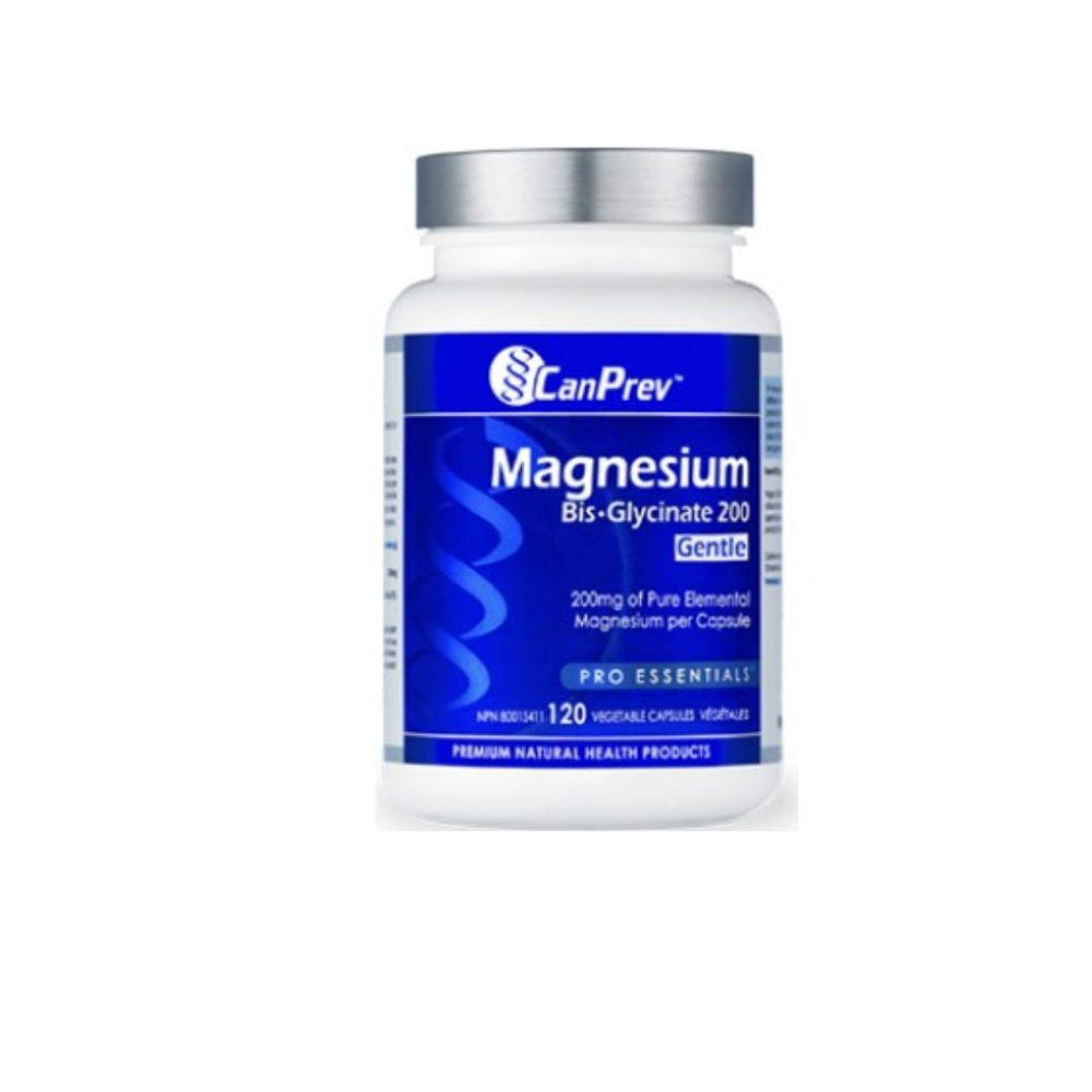 Canprev Magnesium Bisglycinate 120 Caps | Durham Natural Food