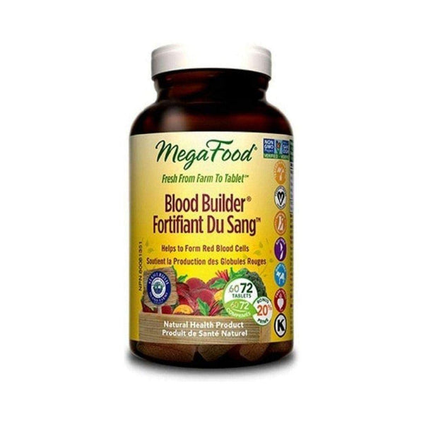 MegaFood Blood Builder 72 Tablets