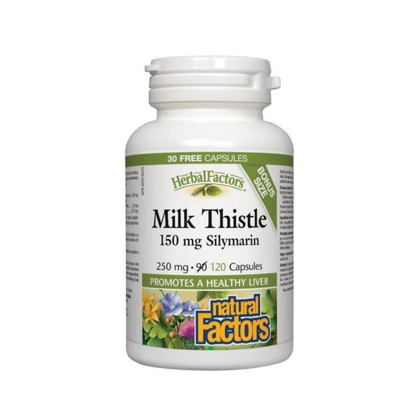 Natural Factors Milk Thistle 250mg 120 Capsules
