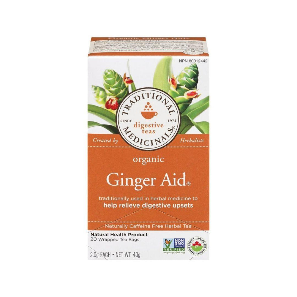 Traditional Medicinals Ginger Aid Tea 20 Bags
