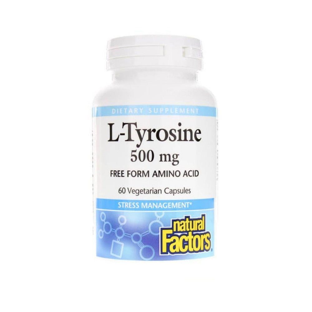 Natural Factors L-Tyrosine 500mg 60 Capsules