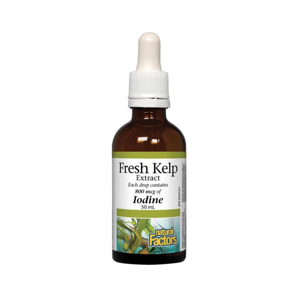 Natural Factors Fresh Kelp Extract 50ml Liquid