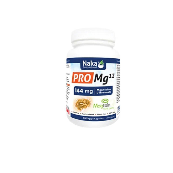 Naka Pro Mg 12 L-Threonate 90 Veggie Caps | Durham Natural