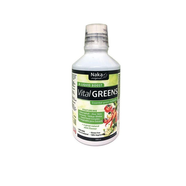 Naka VITAL GREENS LIQUID - 900ML | Durham Natural