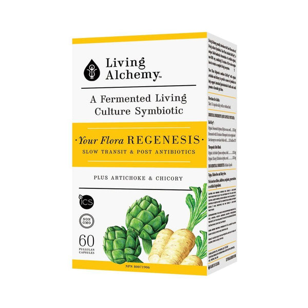 Living Alchemy Your Flora Regenesis 60 Capsules