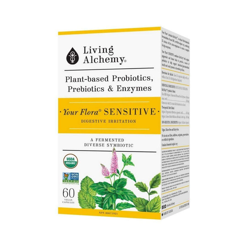 Living Alchemy Probiotics Sensitive | Durham Natural
