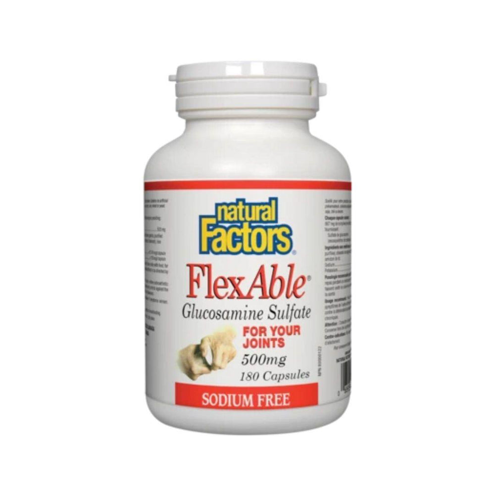 Natural Factors FlexAble Glucosamine Sulfate 180 Capsules | Durham Natural