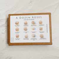 "Dozen ""Roses"" Rock Box"