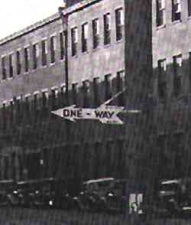 New York, 1940s One Ways Sign Iteration