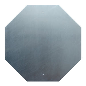 Aluminum Stop Sign Blank