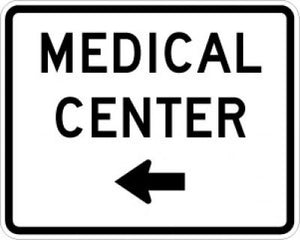 EM-6aL Medical Center Left Arrow