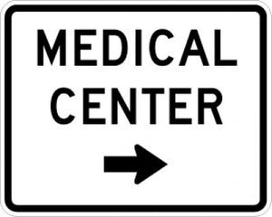 EM-6aR Medical Center Right Arrow