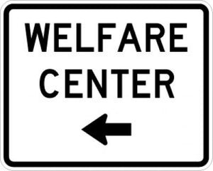 EM-6bL Welfare Center Left Arrow