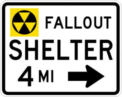 EM-7cR Fallout Shelter Distance Right Arrow