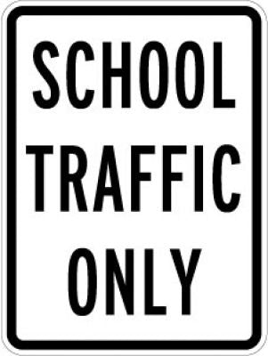 LR9-20 School Traffic Only