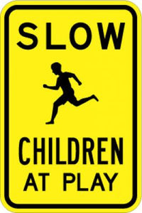 LW9-21 Slow (Symbol) Children At Play