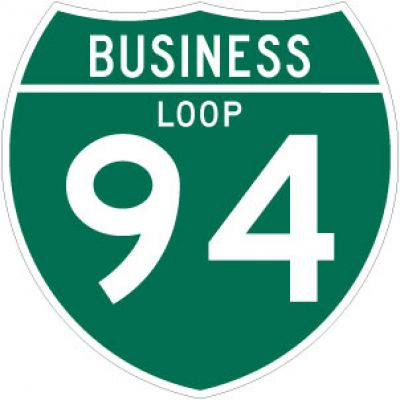 M1-2 Off-Interstate Business Loop Marker - Customizable