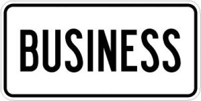 M4-3 Business Route Marker