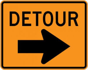 M4-9R Detour (Right Arrow)