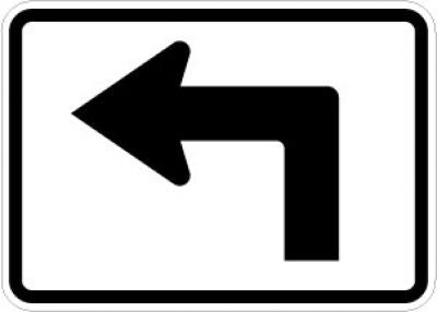M5-1L Advance Turn Arrow (Left)