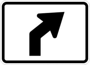 M5-2R Advance Turn Arrow (Right)