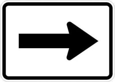 M6-1 Directional Arrow (Reversible)