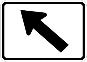 M6-2L Directional Arrow (Left)