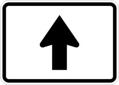 M6-3 Directional Arrow (Up)