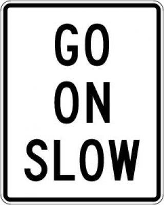 R1-8 Go On Slow