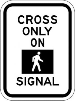 R10-2 Cross Only On (Symbol) Signal